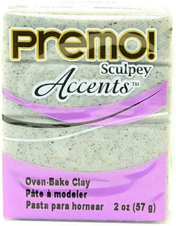 Sculpey Challenge the lowest price of Japan ☆ Premo Premium Polymer Clay Gray Pieces Granite 4 P - Max 71% OFF