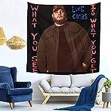 Lu-ke Com-bs Wh-at-You See is Wh-at You-Get - Tapiz para colgar en la pared de 59 x 149 cm, tapiz moderno Art Deco para colgar en la pared, duradero para sala de estar, dormitorio o dormitorio