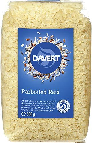 Davert Bio Parboiled Reis (6 x 500 gr)