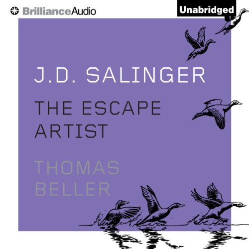 J. D. Salinger audiobook cover art