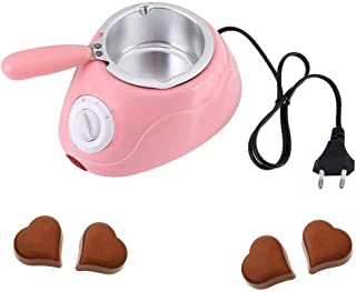 Chocolate Melting Pot, Durable Stainless Steel, Electric Chocolate Fondue with Fondue Melter Machine Set DIY Tool,Great fo...
