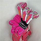 YDL Club De Golf Honma Beres S-06 Set De Golf Honma Beres S-06 Conjunto Completo De Maderas + Fairway Woods + Hierrons + Putter L Eje con Cubierta De Cabeza (Color : L)
