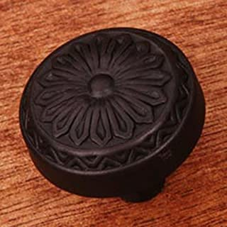 RK International RKI R.K. International CK 206 RB Flowery Ornate Knob, Oil Rubbed Bronze,