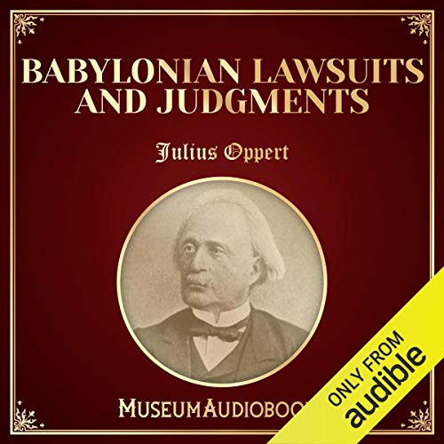 Babylonian Lawsuits and Judgments audiobook cover art