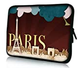 PEDEA Design Tablet PC Tasche 7 Zoll (17,8 cm) neopren, Paris