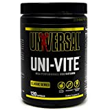 Universal Nutrition uni-vite cápsulas, 120Count