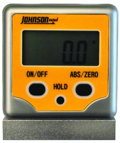 Johnson Level & Tool 1886-0300 Magnetic Digital Angle Locator