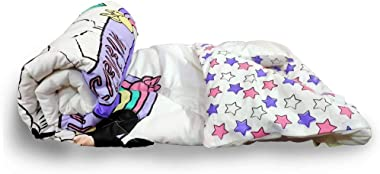 Minnie Mouse 100% Cotton Unicorn Comforter - Toddler Size ( 150 x 100 cms) - Reversible Design