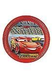 Disney 87807 8 Teller CARS 3 von für Kindergeburtstag oder Motto-Party, Lightning McQueen Autos...
