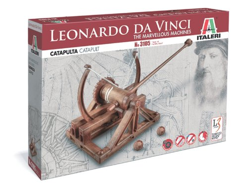 Italeri - Catapulta Leonardo Da Vinci (I3105)