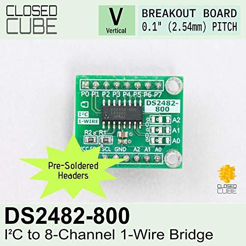 2/pcs Closedcube Hdc1080/faible Puissance haute pr/écision Digital I2/C humidit/é et de temp/érature Breakout Board