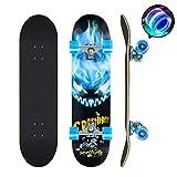 Skateboards Pro 78,7 cm Komplett-Skateboards Double Kick...