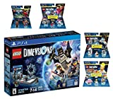 Lego Dimensions Starter Pack + Back To The Future Marty McFly Level Pack + Homer Simpson Level Pack + Portal 2 Level Pack + Ninjago Nya Fun Pack for PS4