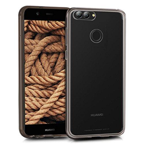 kwmobile Hülle kompatibel mit Huawei Nova 2 - Hülle Handy - Handyhülle in Schwarz Transparent