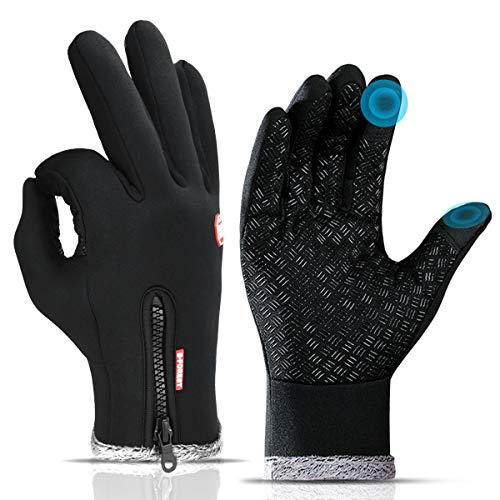 Winter Gloves Men, Winter Cycling Gloves, Touch Screen Glove, Cold Weather Gloves