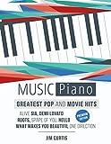 15 Greatest Pop & Movie Hits Piano Music: Piano Book - Piano Music