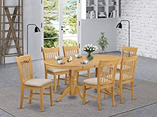 7 Pc Dinette set - Kitchen dinette Table and 6 dinette Chairs (B01GTSX0US) | Amazon price tracker / tracking, Amazon price history charts, Amazon price watches, Amazon price drop alerts