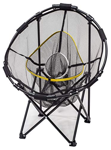 JEF World of Golf Collapsible Chipping Net Black, 23 inch