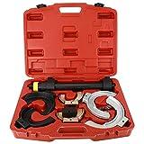 FreeTec Kit Compresseur de ressorts, Tendeur à ressorts universel pour système de suspension e ressorts d'amortisseurs Abaissement pour Mc Pherson avec capuchons de protection