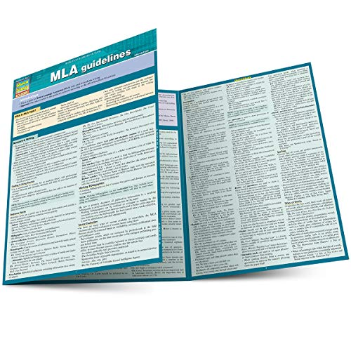 Mla Guidelines (Quick Study Academic)