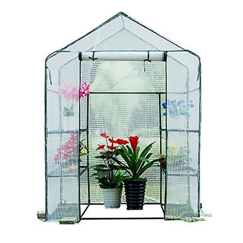 Serres Walk-in Effet de des Plantes, Couverture Jardinage Antigel antipluie Fleur Isolation Cabanon Flower Garden for Intérieur Extérieur Herb Flower Garden Balcon (Color : A)