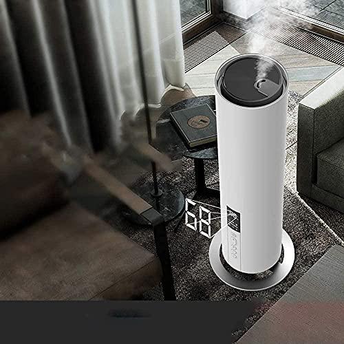 Ruisan Luftfuktare golv för att lägga till vatten hem sovrum kontor topp fyllning ultraljud anpassad luftfuktighet fjärrkontroll sovläge LED display lågt ljud tyst stor kapacitet eterisk olja spridare