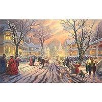 ビクトリア朝のクリスマスキャロル木製ジグソーパズルアダルトチルドレン500から6000個の教育おもちゃの高難易度のユニークなホーム装飾やギフト (Color : Puzzle, Size : 5000PCS)