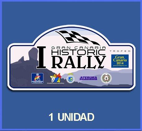 Ecoshirt 2H-T6N0-4S1J Pegatinas Stickers I Gran Canaria Histórico Dp498 Aufkleber Autocollants Adesivi Car Decals Rally Rallies