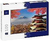 Lais Puzzle El Monte Fuji Japón en Colores de otoño 100 Piezas