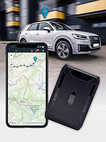 Salind 11 – TRACEUR GPS Voiture, traceur gps moto et plus - Traqueur gps Aimanté - Batterie longue durée jusqu'à 40 jours - Balise gps espion en temps réel