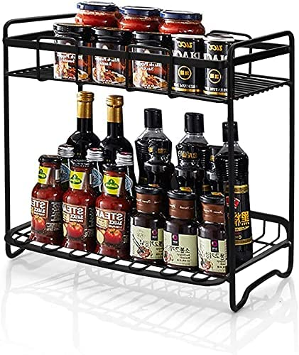ZNBLLH Standing Spice Rack Organizer Genuine Free Shipping Or Detachable Cans Bottles 5% OFF