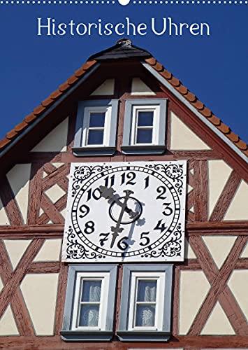 Historische Uhren (Wandkalender 2022 DIN A2 hoch)