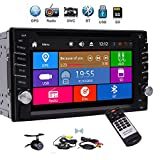 EINCAR Double Din Car Stereo with GPS Navigation Car Radio Bluetooth 3 Type