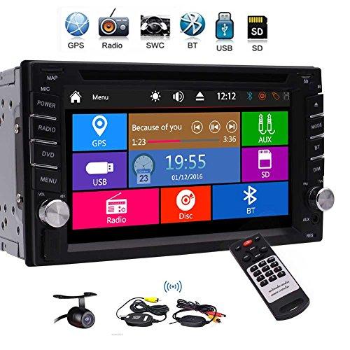 EINCAR Double Din Car Stereo with GPS Navigation Car Radio Bluetooth 3 Type...
