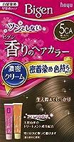 ホーユー ビゲン香りのヘアカラークリーム5CA (深いカフェブラウン) 40g+40g ×3個