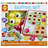 Product Image of the Alex Discover Button Art Activity Set Kids Art and Craft Activity