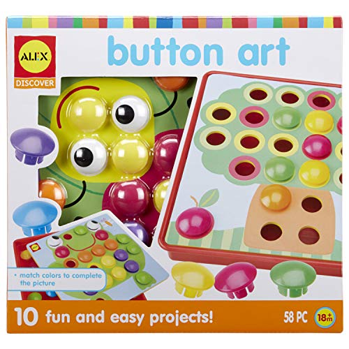 Alex Discover Button Art Activity Set...