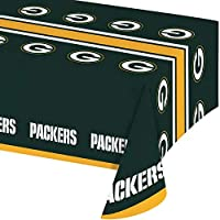 Green Bay Packers Plastic Tablecloths, 3 ct [並行輸入品]