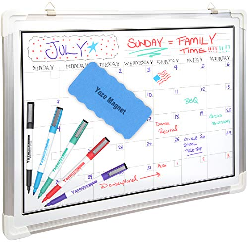 """White Board Calendar for Wall 
