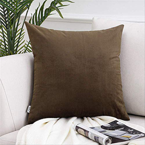 XSHIYQ Soft Velvet Pillow Cases Cushion Cover Square Decorative Pillow Covers For Sofa Bed Home Throw Pillows 45cmx45cm(18x18in) 11