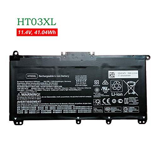 ANTIEE HT03XL Laptop Batería para Hp Pavilion 14-CE 15-CS 15-DA 250 G7 255 G7 Series L11421-542 HSTNN-UB7J HSTNN-LB8L HSTNN-IB8OL HSTNN-DB8SL HSTNN-DB8R 11.55V 41.7Wh 3615mAh