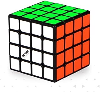 Cubelelo Qiyi Thunderclap Mini (60mm) 4x4 Black Base Speedcube Puzzle 4x4 Magic Cube