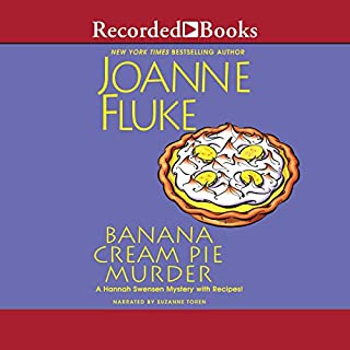 Banana Cream Pie Murder audiobook cover art