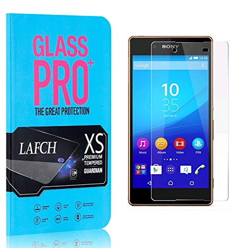 3 Stück Schutzfolie für Sony Xperia Z4, LAFCH HD Displayschutzfolie Xperia Z4, Anti-Fingerabdrücke Gehärtetem Glas Panzerglasfoli