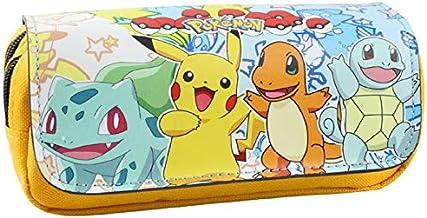 N / A Trousse pour dessins animés Pokemon Pikachu Porte-crayons Boutique Matériau scolaire Cadeau de papeterie Sac pour pi...