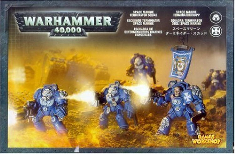 Games Workshop Warhammer 40k 40k 40k Space Marine Terminator Squad
