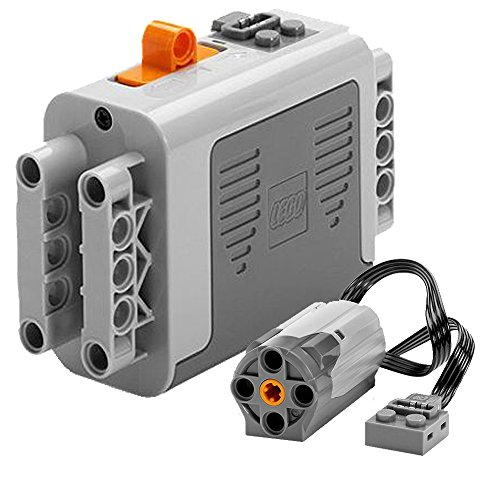 Lego Functions Power Set Includes 1 Battery Box 8881 and 1 Lego Functions Power M-Motor 8883