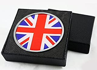 for Mini Cooper S Countryman Paceman Union Jack UK Flag Front Grill Grille Emblem Badge
