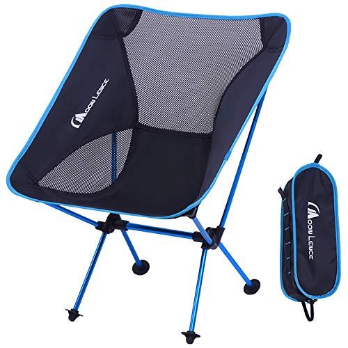 Moon Lence アウトドア チェア キャンプ 椅子 折りたたみ アルミ合金&オックスフォード コンパクト 超軽量 収納バッグ ハイキング 耐荷重150kg