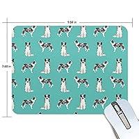 マウスパッド ボーダーコリー犬 ゲーミングマウスパッド 滑り止め 厚い 耐久性に優れ おしゃれ